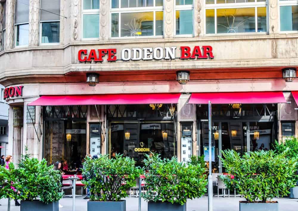 Cafe Odeon, Zurich