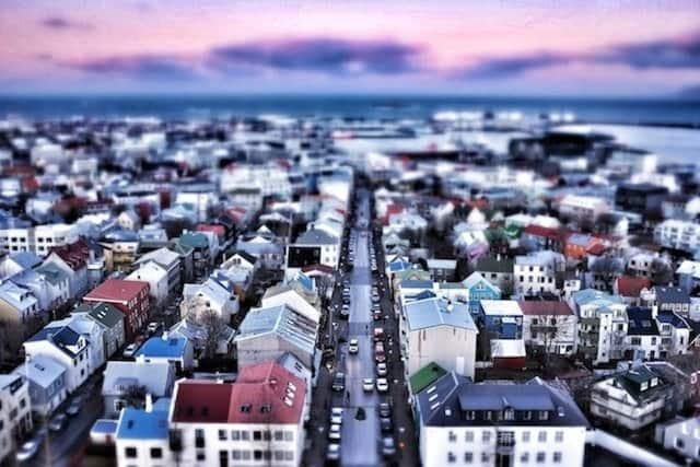 Reykjavik from Hallgrimskirkja 1