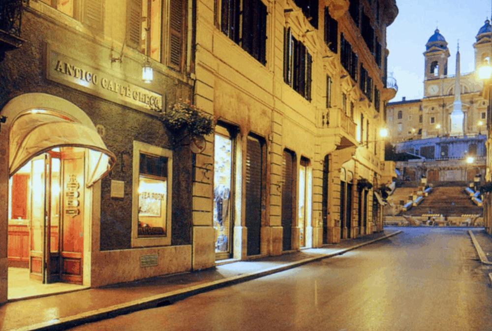 The Antico Caffe Greco, Rome