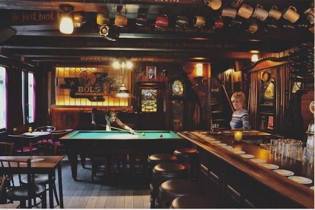 best historic cafe Amsterdam