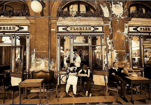 best historic cafe Venice