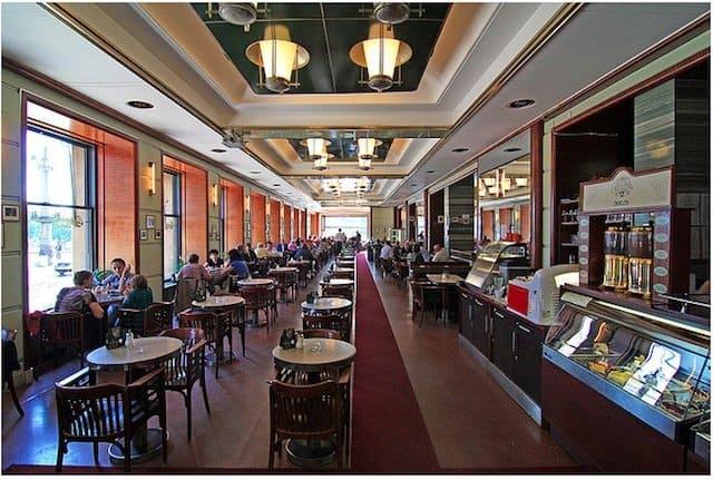 historic cafes Prague