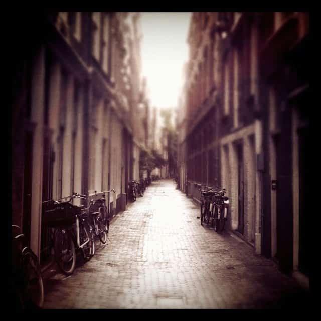 A beautiful Amsterdam street