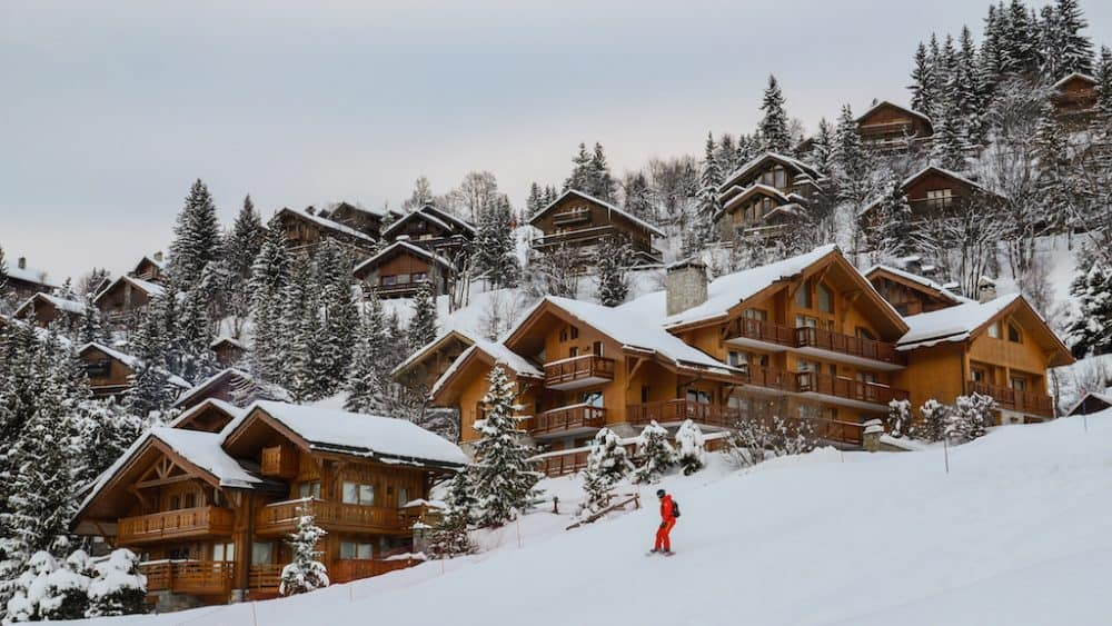 Courchevel - most beautiful ski resorts