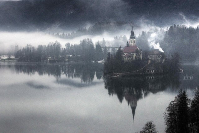 Lake Bled beautiful lakes of Europe