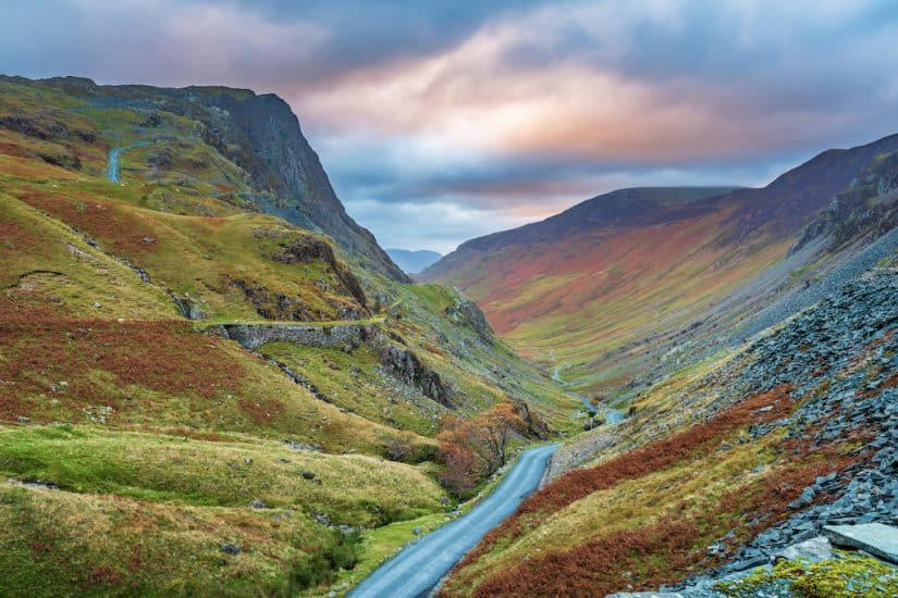 Lake District scenic drive