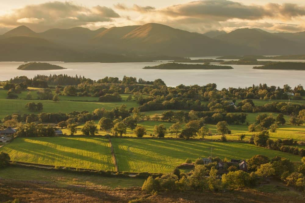 Loch Lomond and The Trossachs National Park views