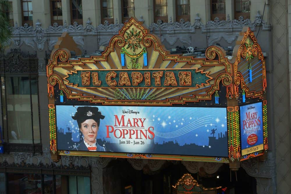 Mary Poppins - films based in London