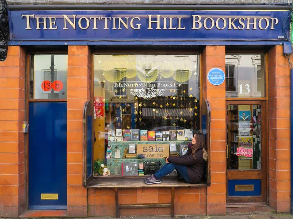 Famous Notting Hill Bookstore London