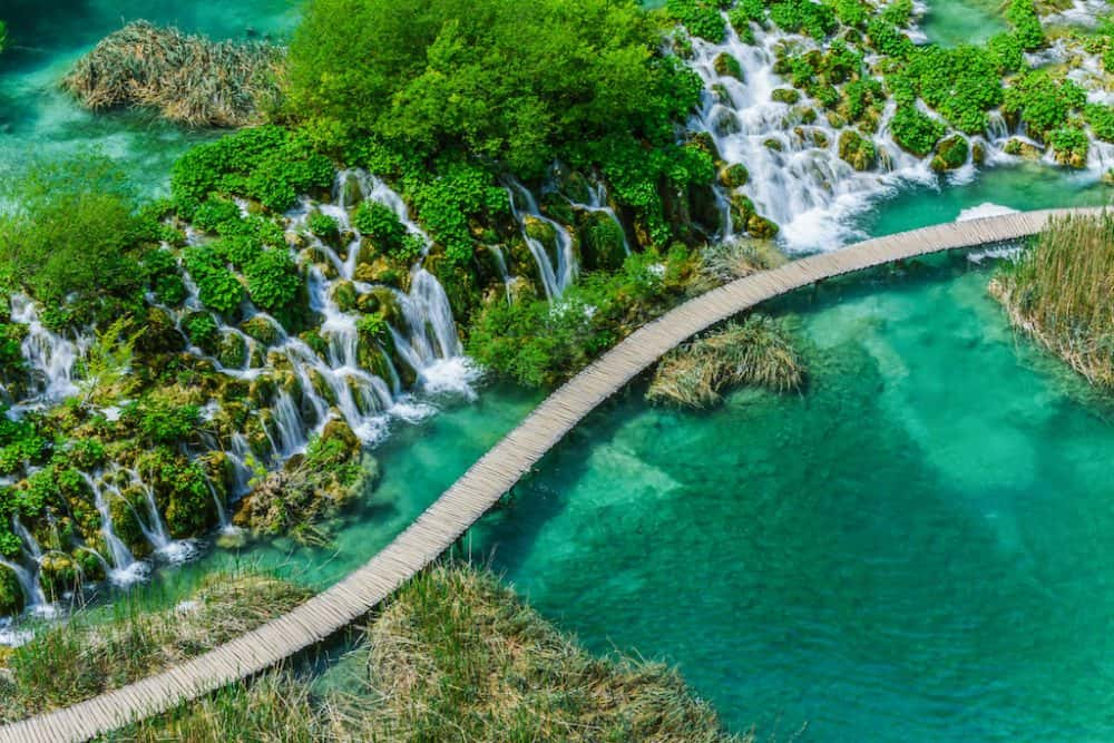 Beautiful Plitvice Lakes Croatia