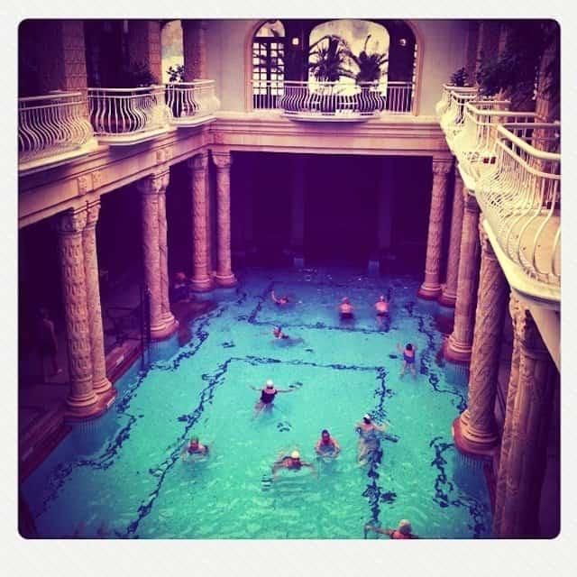 Spa Bath, Budapest Hungary