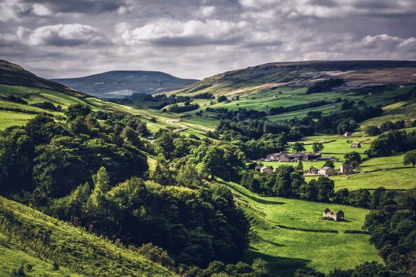 Yorkshire Dales - pretty drive