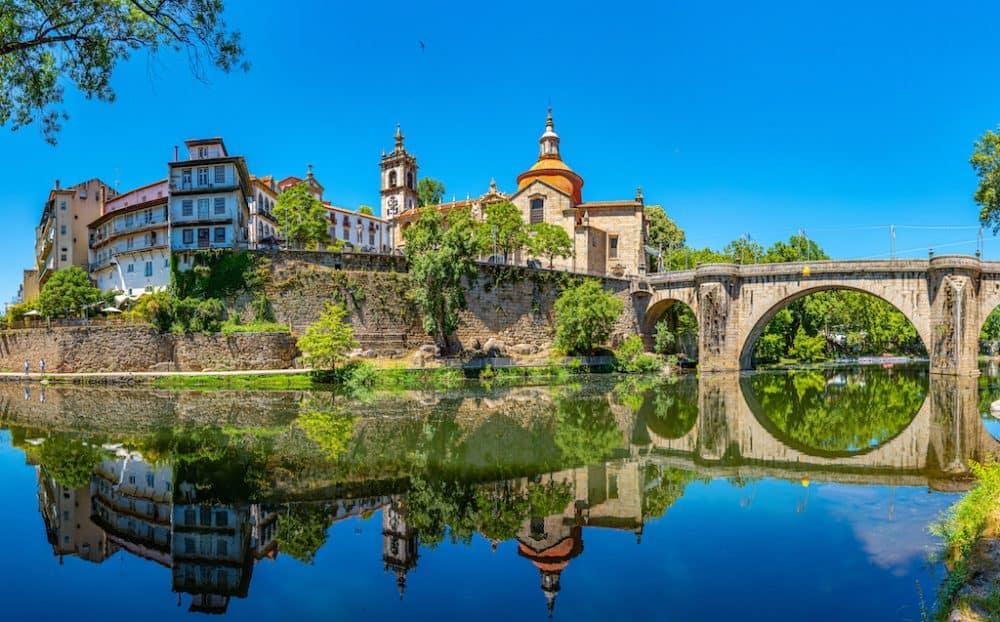 Amarante town in Portugal