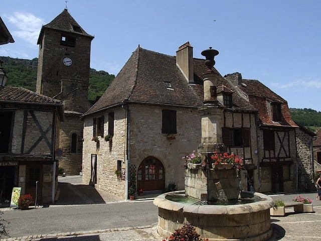 Autoire - prettiest village in France