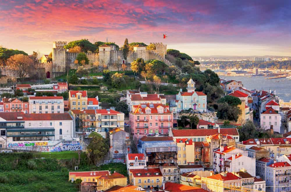 Lisbon - most beautiful places to visit in Portugal