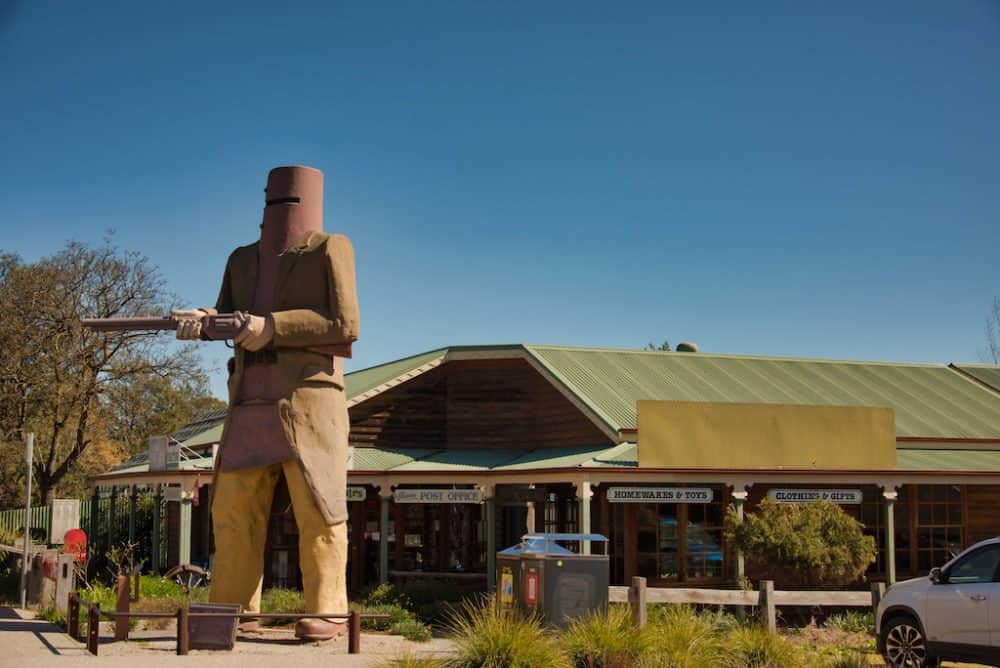 Big Ned Kelly, Glenrowan