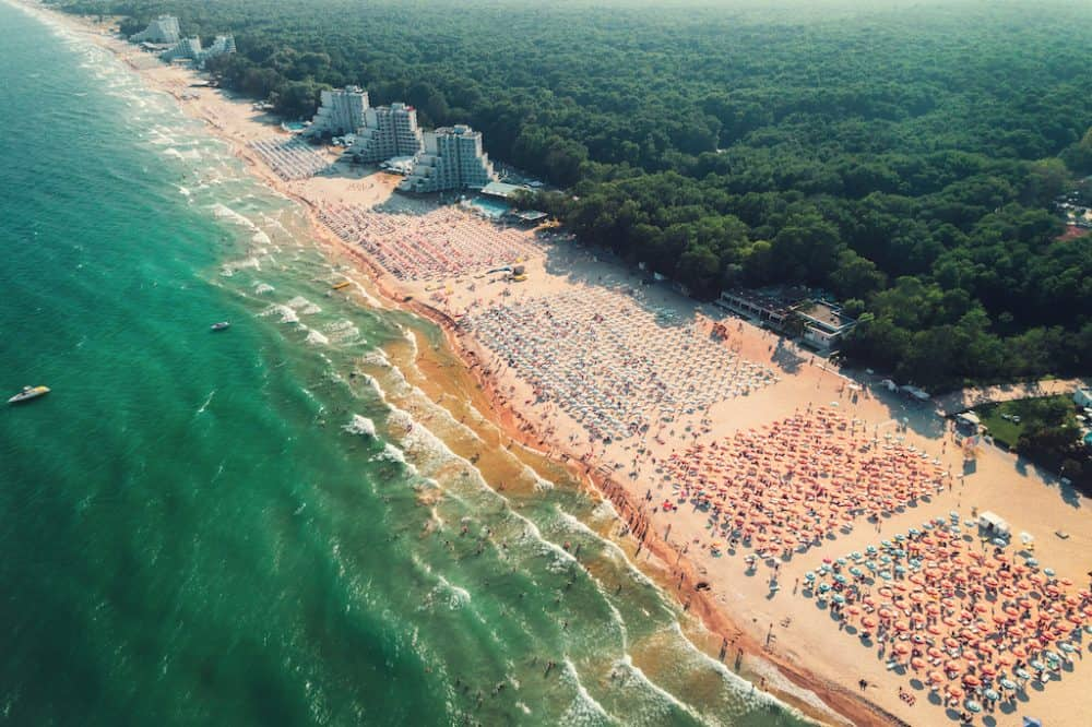 Black Sea Beaches Bulgaria