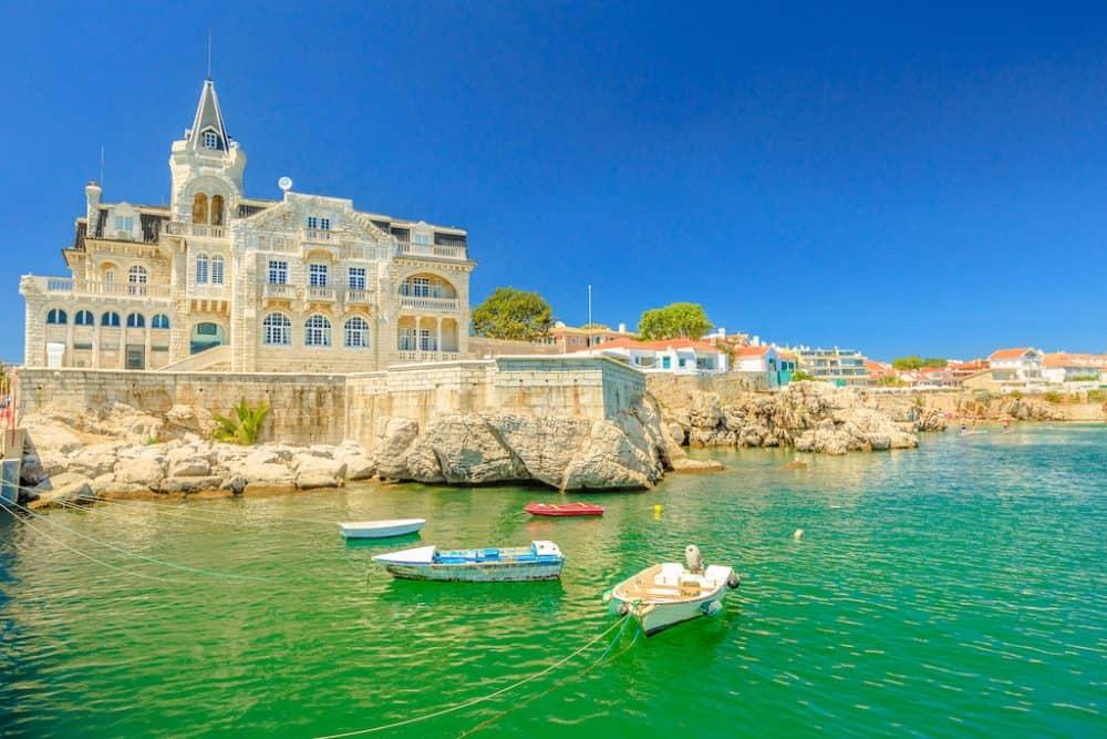 Cascais harbour - pretty Portugal resort