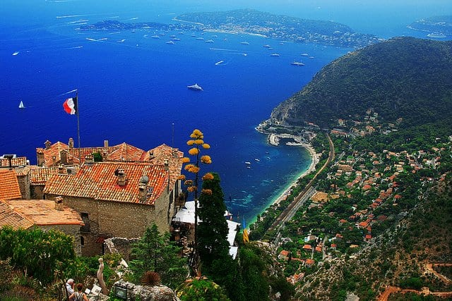 Eze - prettiest villages in Europe