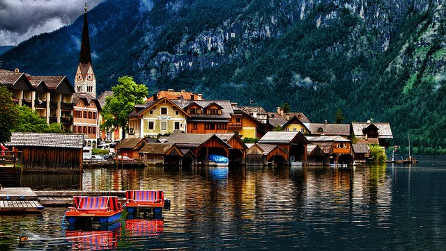 Hallstatt - most beautiful places to visit in Austria