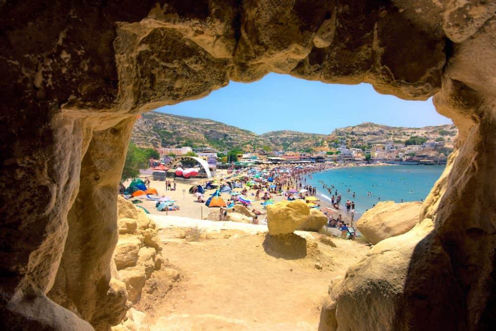 Matala Caves Crete