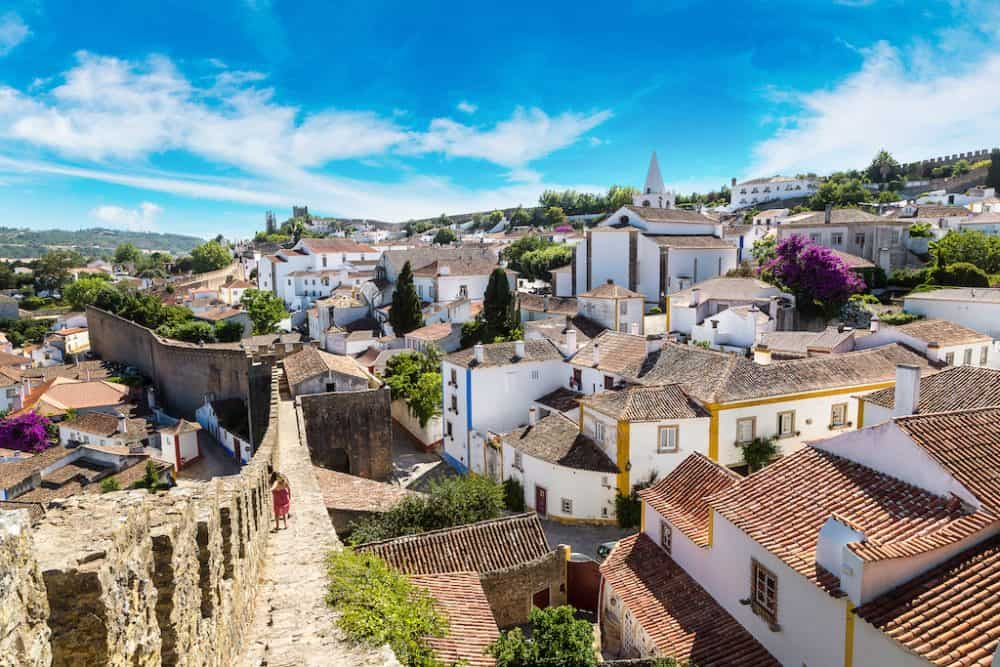 Obidos - one of the prettiest towns in Portugal