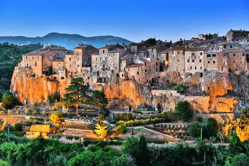 Pitigliano village Italy