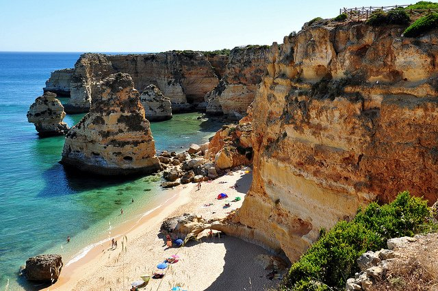 Praia da Marinha - most beautiful places to visit in Portugal