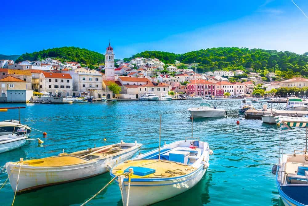 Pucisca Croatia - one of the most beautiful villages in Europe