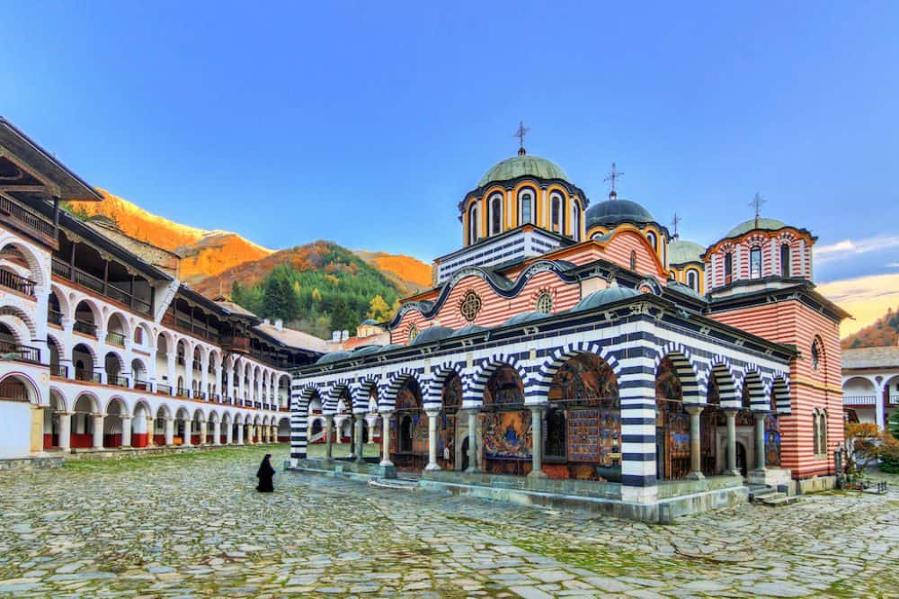 Rila Monastery - best places to visit in Bulgaria