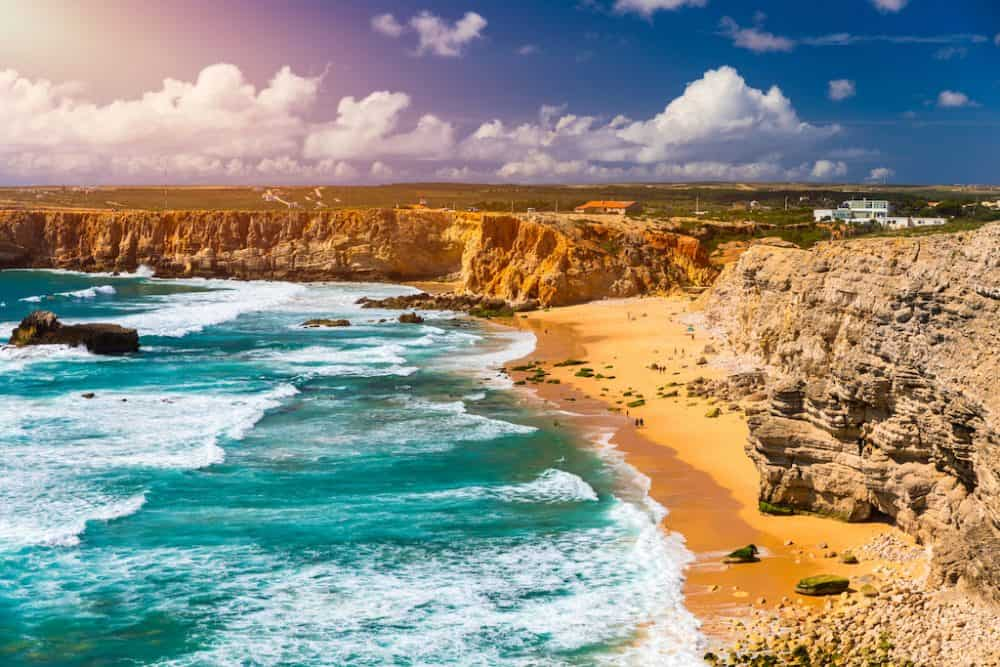 Sagres beach - lovely places to explore in Portugal