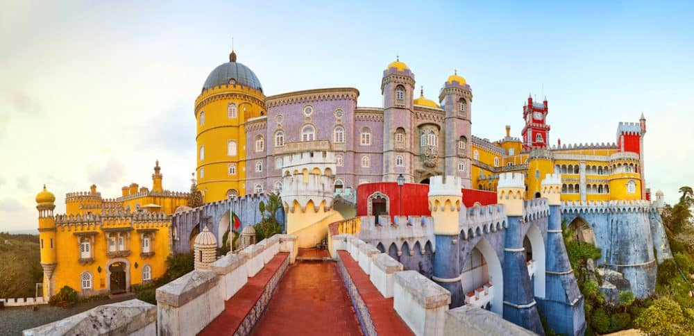 Sintra Portugal - great places to visit in Portugal
