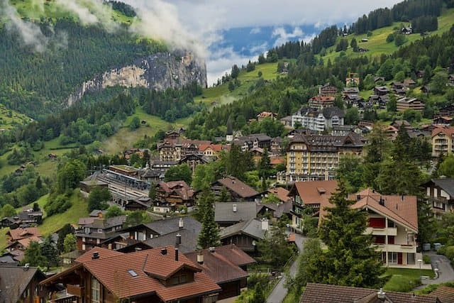 Wengen - prettiest towns in Europe