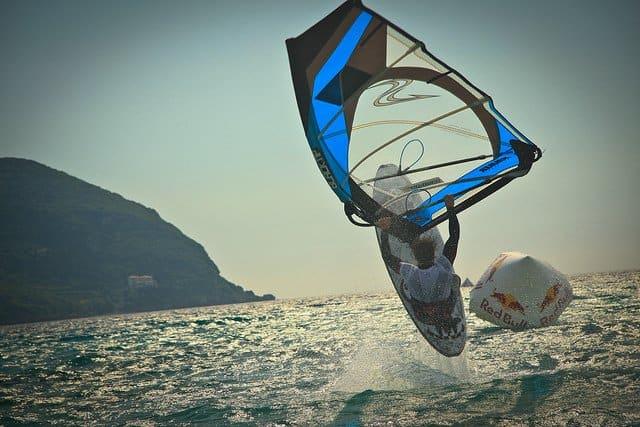 Windsurfing Milos