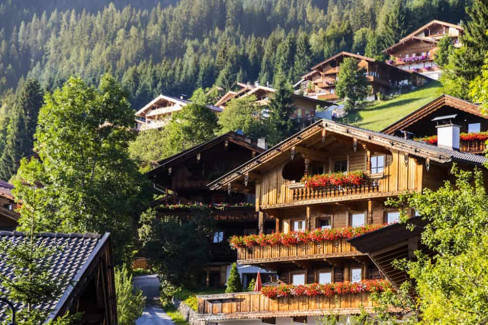 Alpbach Austria - beautiful Austria landscapes