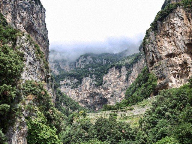 Amalfi Coast driving