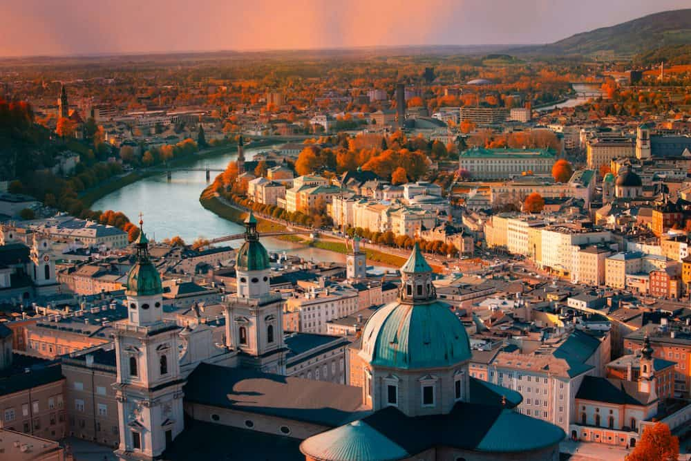 The beautiful city of Vienna