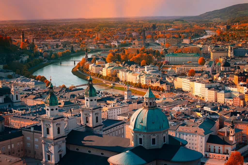 Beautiful city of Vienna