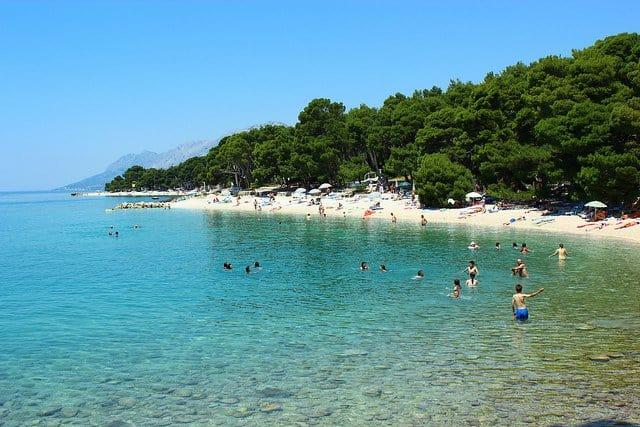 Brela Beach - beautiful places Croatia