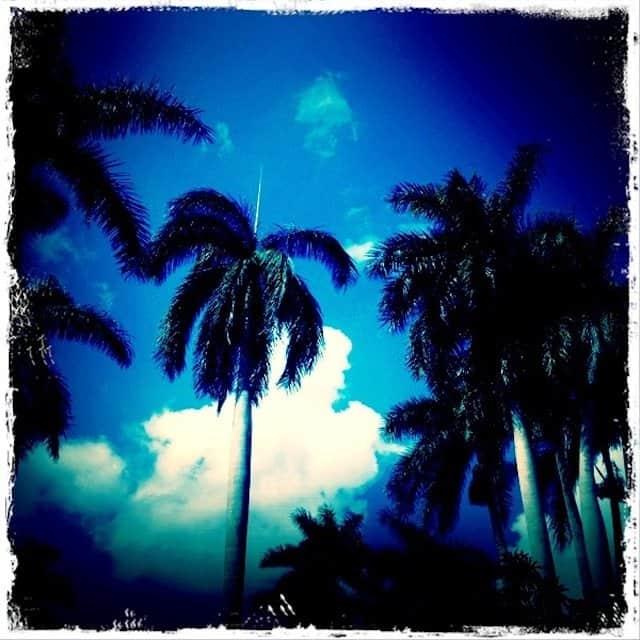 Cuba Beach Retro shot