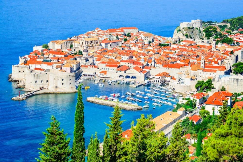 The beautiful Dalmatian Coast Croatia