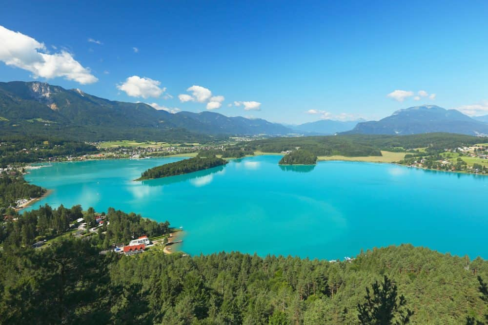 Faaker See Austria - where to stay in Austria