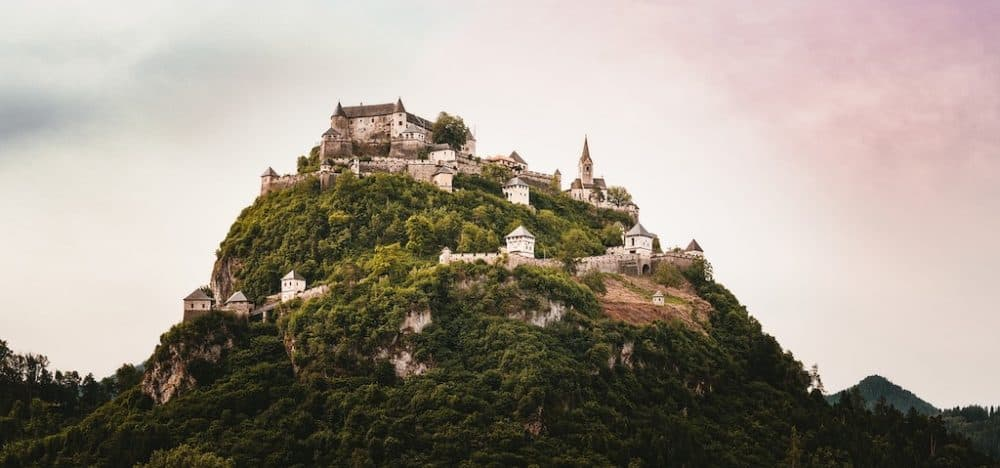 Hochosterwitz Castle - one of the best places to go in Austria