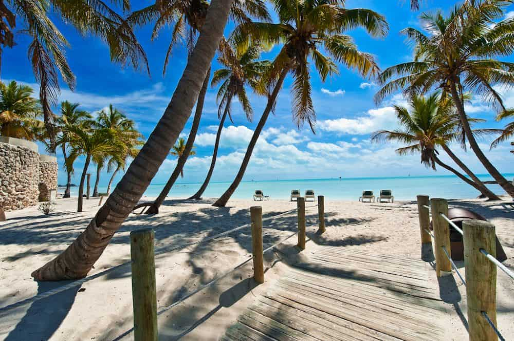 Key West Beach Florida