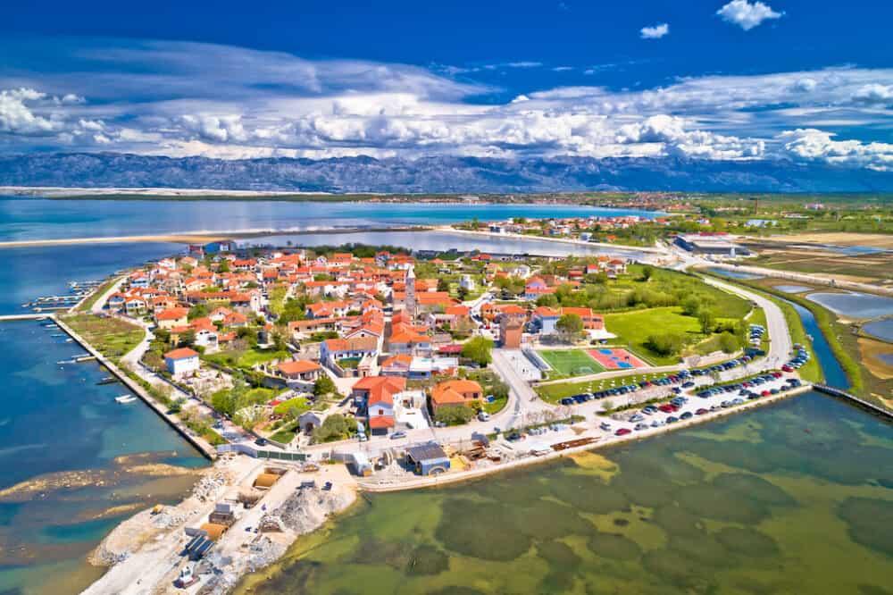 Nin - stunning places in Croatia