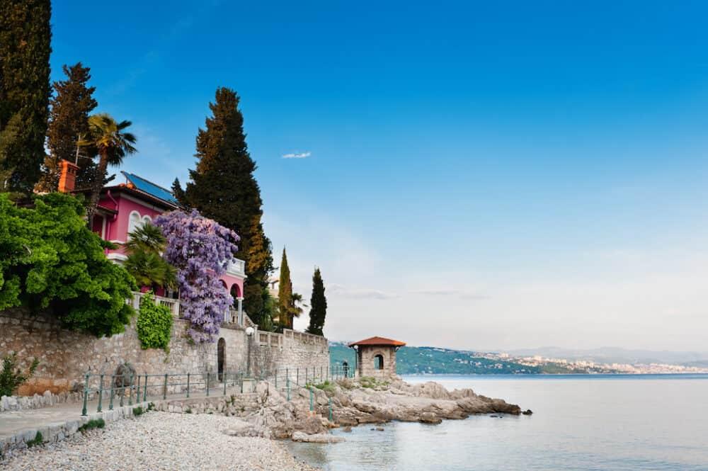 Opatija - meilleurs endroits à visiter en Croatie