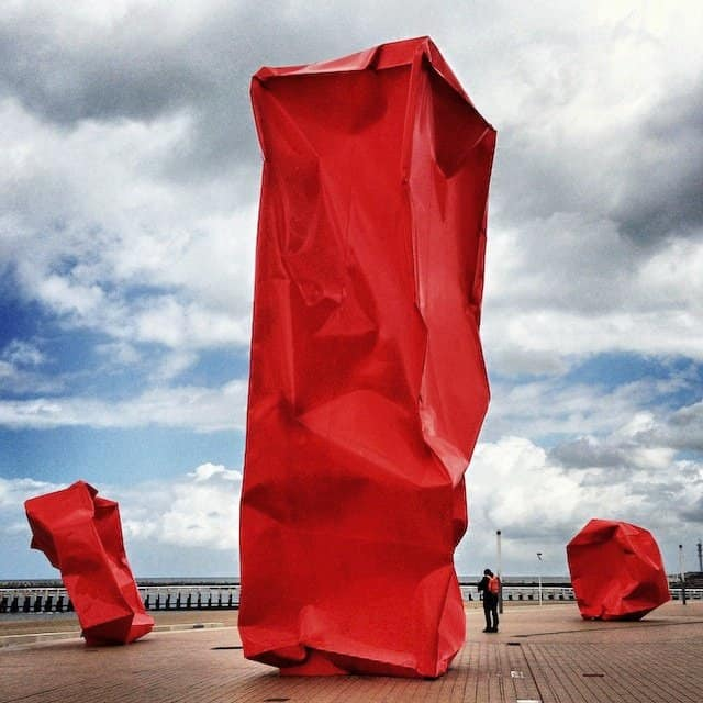 Ostend Red Sculptures