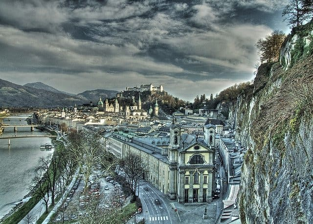 Salzburg - beautiful places to visit in Austria