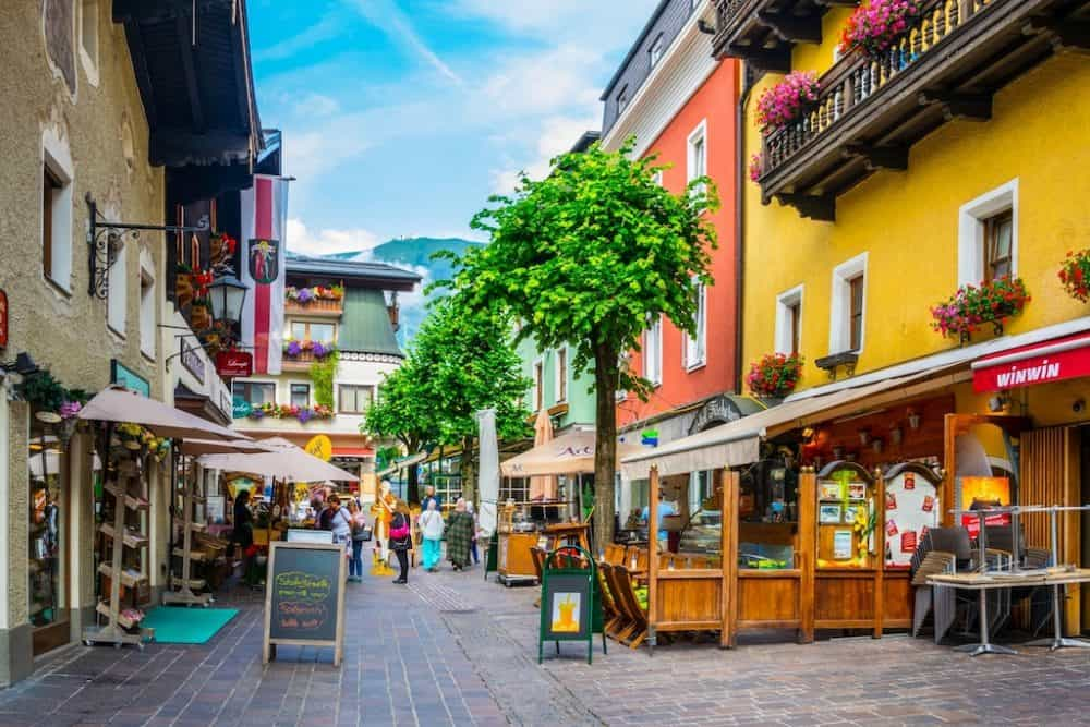 Zell am See Austria - prettiest villages in Austria