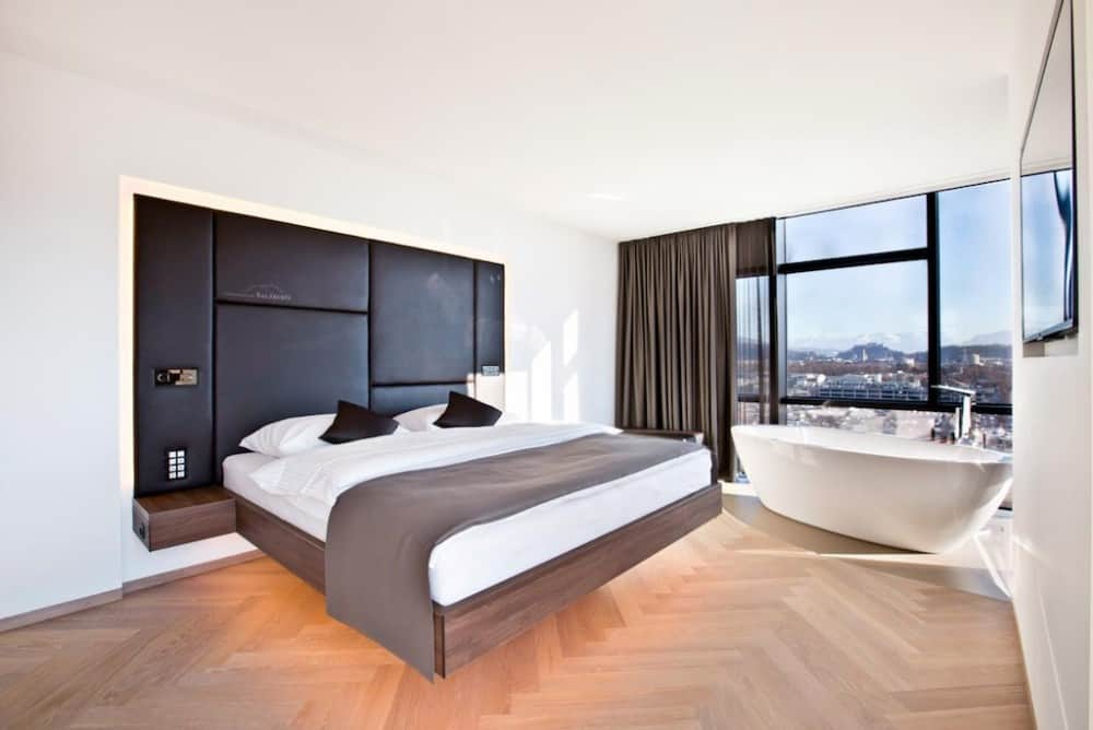 Cool hotel in Salzburg Austria